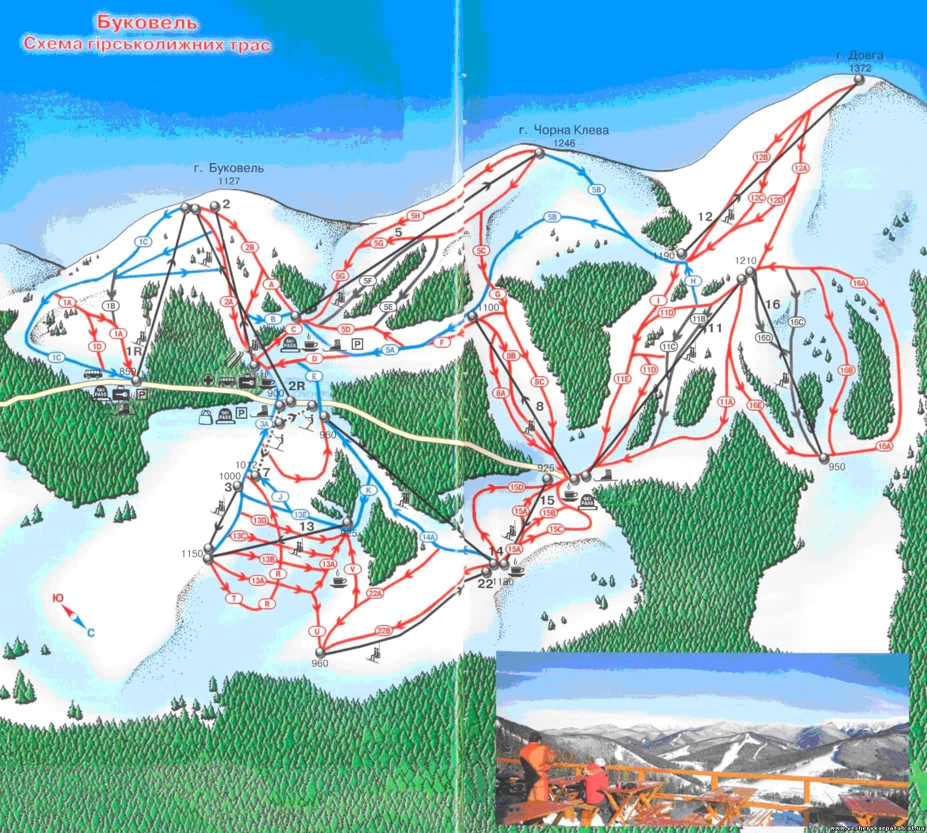 Гірськолижний курорт світового рівня